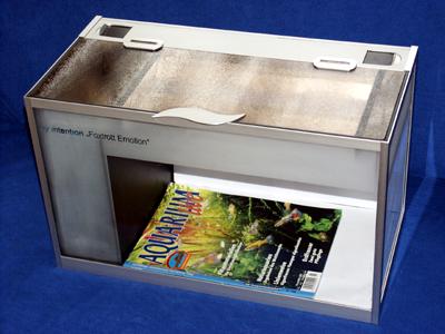 foxtrott emotion volume four glas und metall in zeitloser sch nheit arnold design aquarien. Black Bedroom Furniture Sets. Home Design Ideas