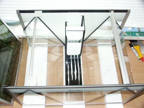 """Bild: Idee und Umsetzung / Das Arnold Design Aquarium """"Mecklenburg-Vorpommern"""" (2006) von Oben betrachtet. Experience The Beauty"""