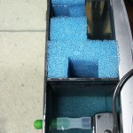 Bild: Negativtuning / Tetra AquaArt-Aquarium 20 Liter mit nachgerüstetem Zweikammerfilter.