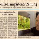Bild: Pressemitteilungen / Am 18. Mai 2005 erschien in der Ribnitz-Damgartener Zeitung der Artikel - Kleines Becken für kleine Fische.