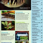 Bild: Pressemitteilungen / Aquarium Live Oktober / November 2007. Bereits im Inhaltsverzeichnis die Ankündigung von 3 Beiträgen.