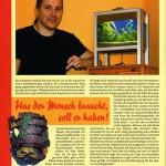 Bild: Pressemitteilungen / Aquarium Live Oktober / November 2007. Standpunkt. Unter dieser Rubrik werden wir in Zukunft über diskussionswürdige Ansichten und Meinungen engagierter Aquarianer berichten.