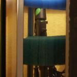 Bild: Licht und Filtertuning / Tetra AquaArt Aquarium (2010) Seitenansicht vom Filter - der Raum zwischen den Filterschwämmen ist individuell bestückbar. Der Grundgedanke bei diesem Filter ist die gute Bedienbarkeit - kein Händebrechen, kein Verrenken, kein Zwergäffchen für die Reinigung angagieren müssen. :-)