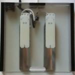 Bild: Das Sandwichmodul (2005) / Blick von Oben auf das erste Sandwichmodul (2005) von Foxtrott Reliability volume ONE. Gut erkennbar sind die Vorschaltgereäte für die Kompaktleuchtstoffröhren. Von 7 -11 Watt sind die Lampen verbaubar. experience the spirit of the times.