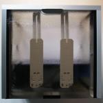 Bild: Foxtrott volume ONE (2005) / Das zweiflammige Sandwichmodul mit 2 x 11 Watt Osram Kompaktleuchtstoffröhren (Lichtfarbe 865).