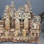 Bild: Aquariendekoration aus Kunststoff / Pharaonen aus Kunstoff für die Aquaristik